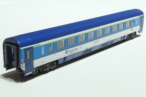ASM 195450 CD 1st class passanger car gray blue