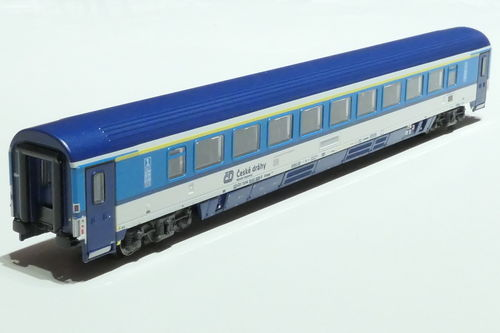 ASM 195451 CD 1st class passanger car gray blue