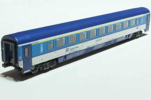 ASM 195452 CD 1st class passanger car gray blue