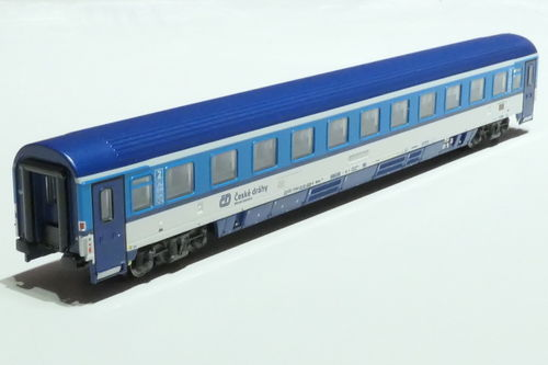 ASM 195429 CD 2nd class passanger car gray blue