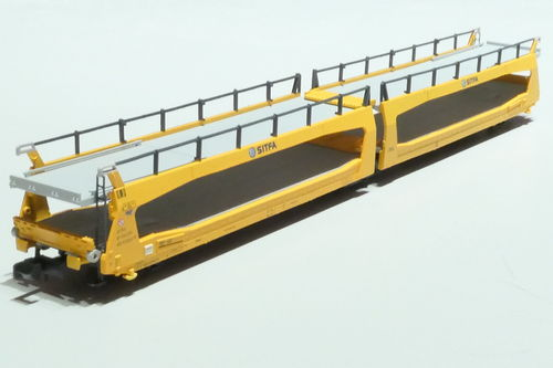 MF Train 33274  SBB 3 axl car dolly Stifa yellow