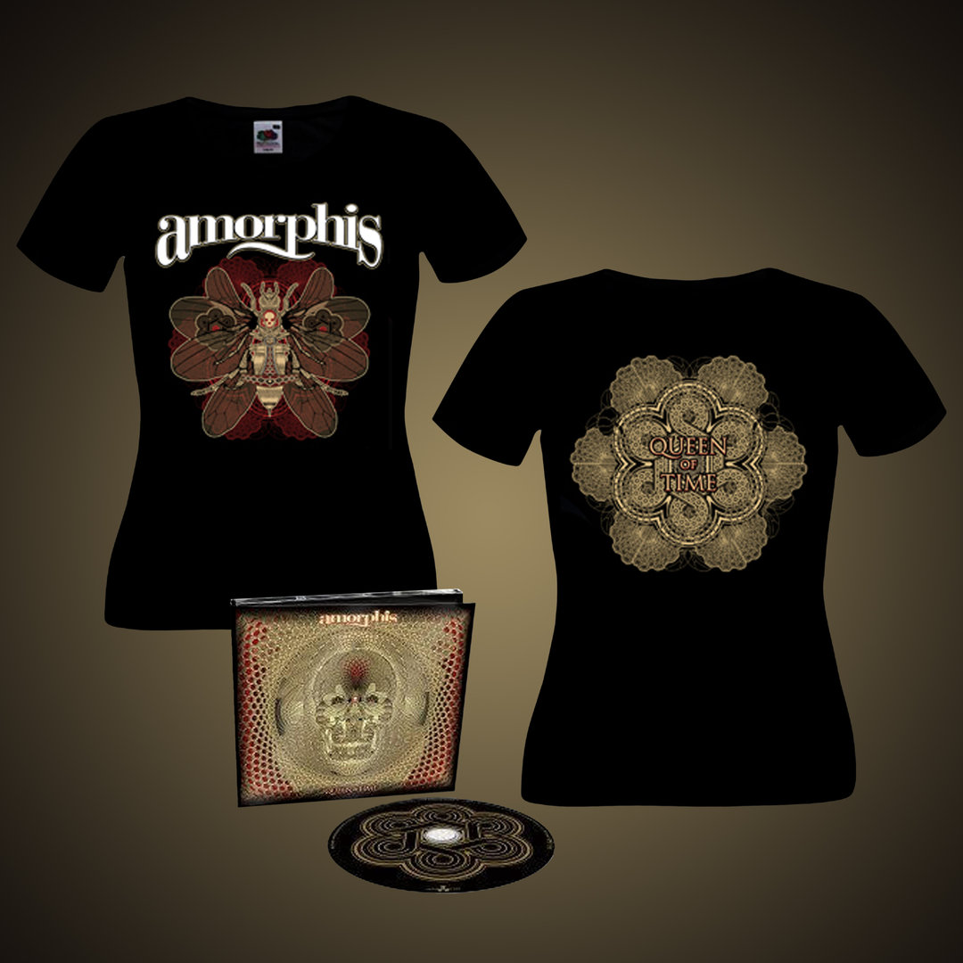 Amorphis: PRESALE Queen of Time Bundle (Lady Fit)