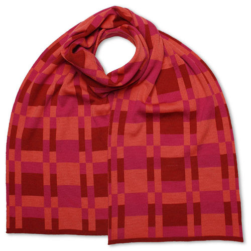 Scarf Art-Line MultiBoxes, pink/red