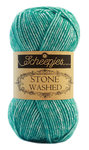 "Scheepjes Stone Washed ""Turquoise"", Farbe 824"