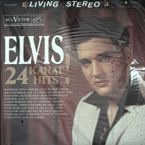 ELVIS PRESLEY  24 Karat Hits (3LPs )  LP  ANALOGUE SONY