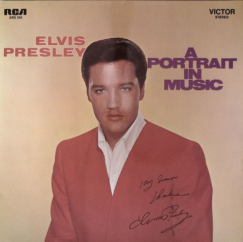 ELVIS PRESLEY  A Portrait In Music  LP  RCA