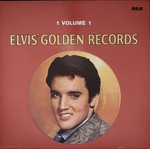 ELVIS PRESLEY  Golden Records  LP  RCA
