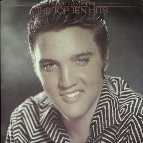 ELVIS PRESLEY  The Top Ten Hits (2 LP Gatefold Cover)  LP  RCA