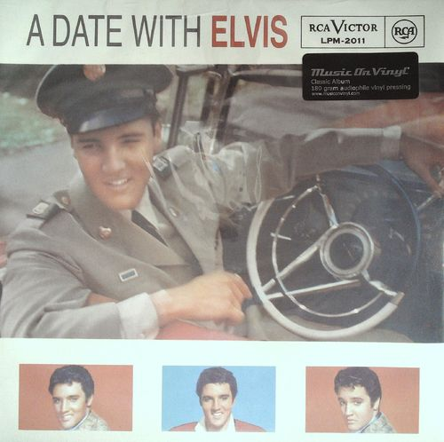 ELVIS PRESLEY  A Date With Elvis (Classic Album)  LP  RCA