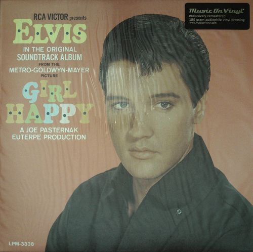 ELVIS PRESLEY  Girl Happy (Soundtrack)  LP  RCA