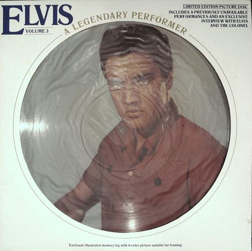 ELVIS PRESLEY  A Legendary Performer (Picture Disk)  LP  RCA