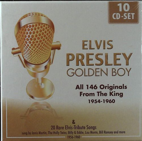ELVIS PRESLEY  Golden Boy 1954-1960 (10CD)  CD  MEMBRAN