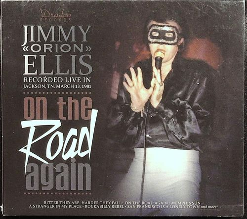 JIMMY ELLIS  - Orion - On The Road Again  LP  DRADCO