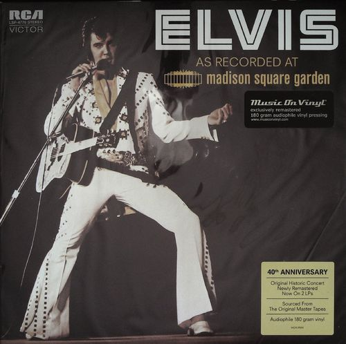 ELVIS PRESLEY  Madison Square Garden (180g) 2LP  LP  RCA FTD