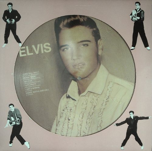 ELVIS & JANIS MARTIN - Picture Disc - LP PD