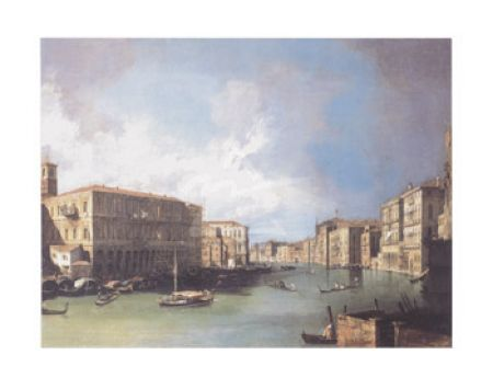 Venice: The Upper reaches of the Grand Canal with S. Simeone Piccolo, ca. 1738