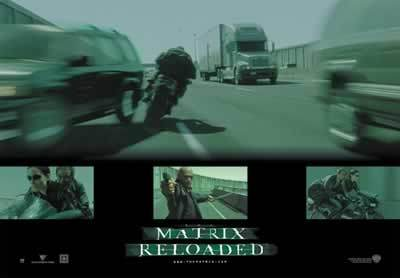 Matrix Reloaded - Collage II