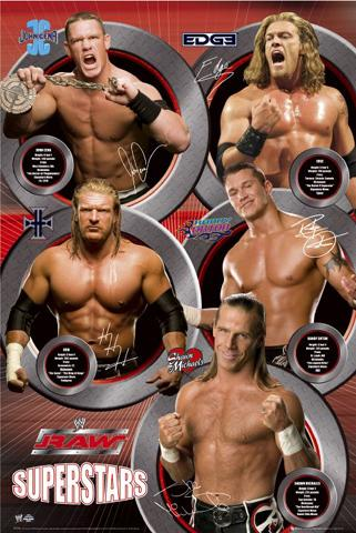 WWE : Raw Superstars