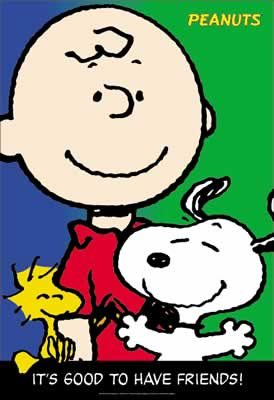 Snoopy und Freunde (Its good to have friends)