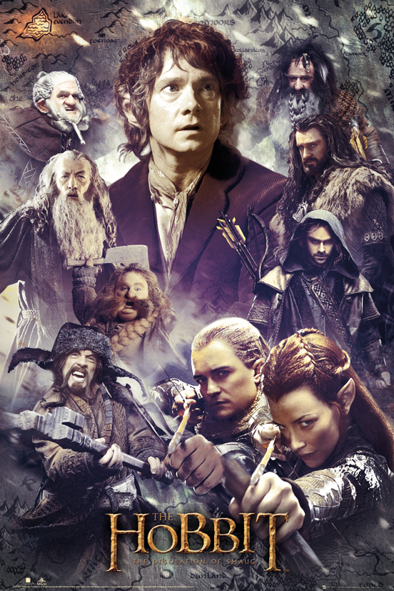 THE HOBBIT - Desolation of Smaug Collage
