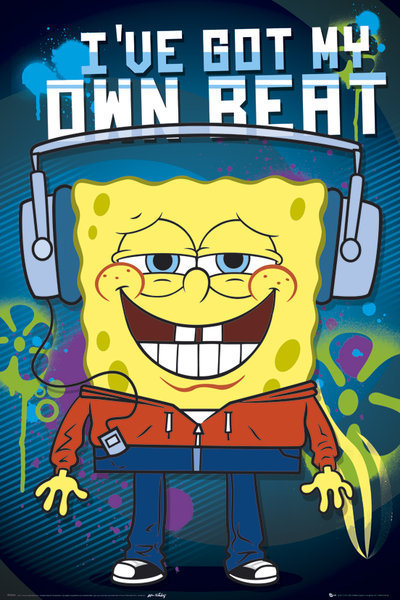 SPONGE BOB - Headphones