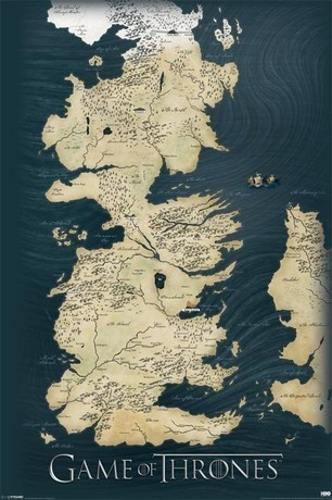 Game of Thrones - Map