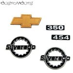 Chevy Blazer emblems for RC4WD body