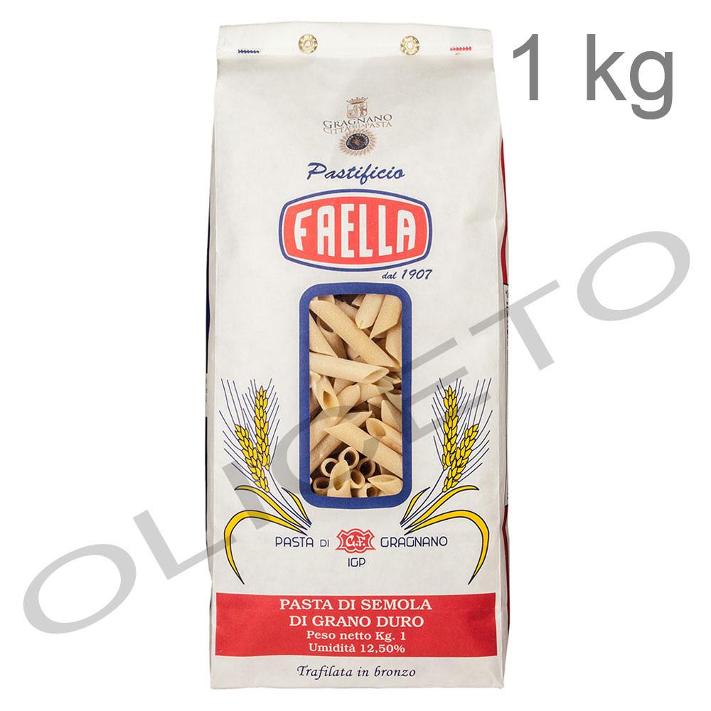 Pastificio faella gragnano penne lisce igp 1 kg pasta di for Cucinare 1 kg di pasta