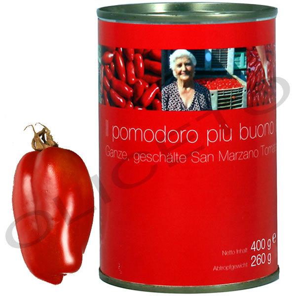 san marzano dosentomaten 400 260 g il pomodoro pi buono. Black Bedroom Furniture Sets. Home Design Ideas