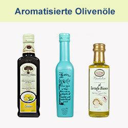 Aromatisierte Olivenöle
