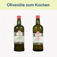 Olivenöle zum Kochen