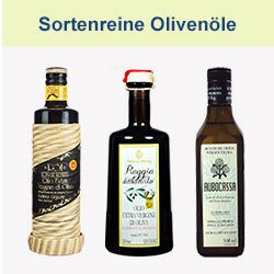 Sortenreine Olivenöle nativ extra