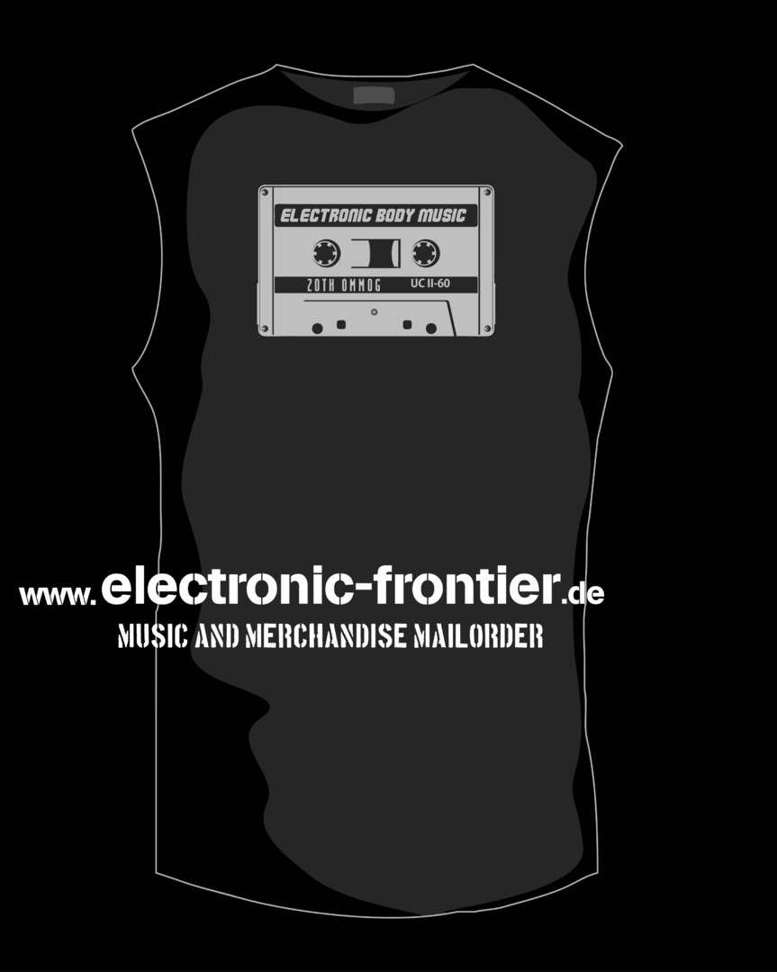 EBM cassette Sleeveless Shirt