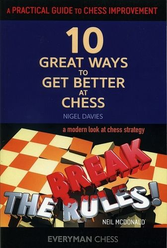 Break the Rules & 10 Great Ways to get better at Chess