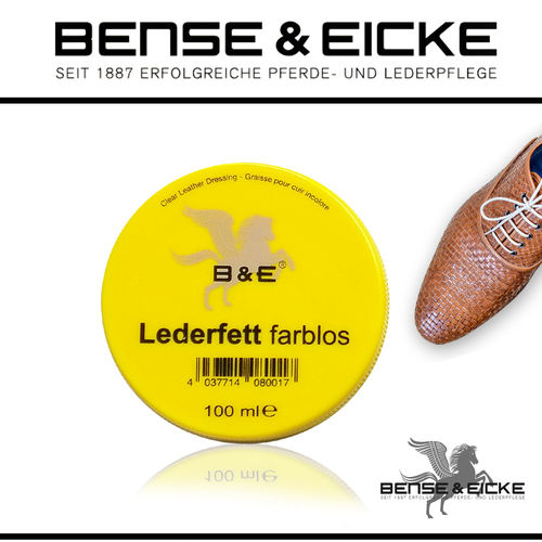 B&E - Lederfett farblos 100 ml