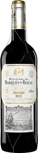 MARQUES DE RISCAL RESERVA 2012