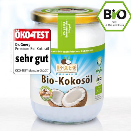 Dr. Goerg Bio Kokosöl 0,5L