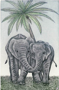 T28 - Elephants Love