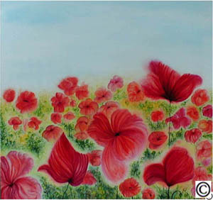81. Meadow with Poppies