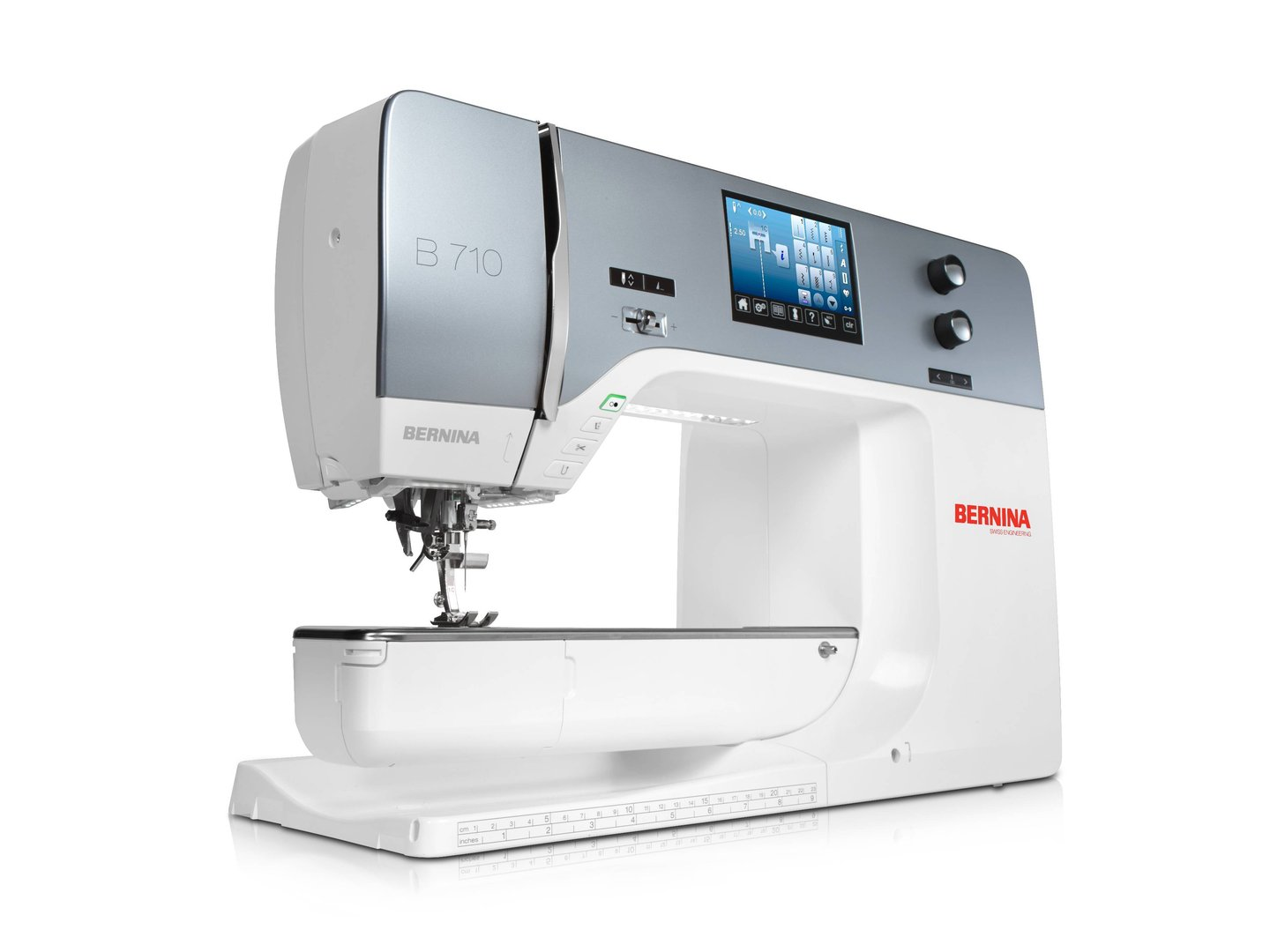 BERNINA B 710 Nähmaschine mit Dual-Transport