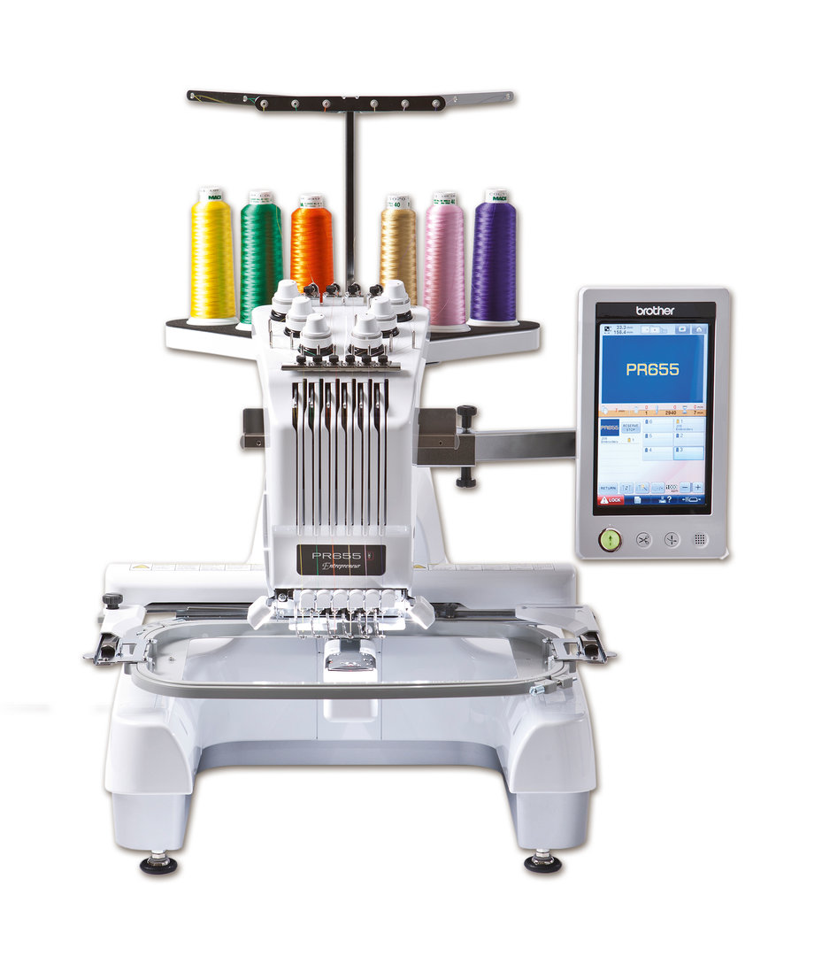 BROTHER PR655 Stickmaschine