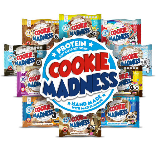 Madness Nutrition - Cookie Madness 12x106g