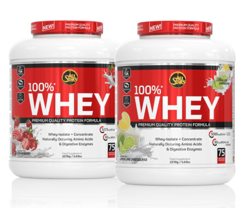 All Stars 100% Whey Protein 2270g