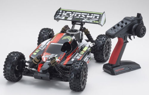 Kyosho Inferno NEO 3.0 4WD Buggy Readyset T2 2.4GHz Rot RTR 1:8 K.33012T2