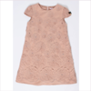 Miss Blumarine Girls Beige Wool Dress
