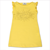 Young Versace Girls Yellow Beach Dress