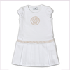 Young Versace Girls White Medusa Dress