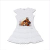 "T-Shirt T-Shops Girls Swarovski ""Horse Fantasy"" Dress"