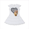 "T-Shirt T-Shops Girls Swarovski ""Kitten"" Dress"