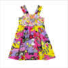Young Versace Girls Cotton Jersey Dress